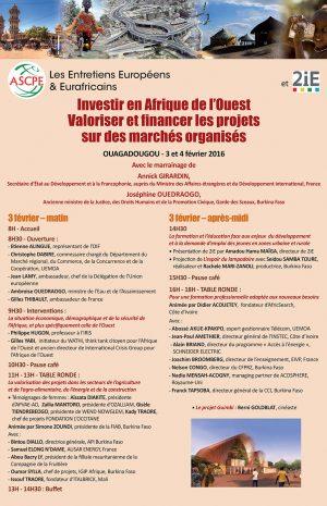 programme-entretiens-eurafricains-Ouagadougou-1