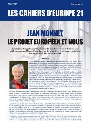 Jean Monnet et nous - Supplément d EUROPE 21 - MAI 2019-page-001