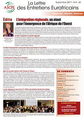 Lettre n°4 Entretiens Eurafricains