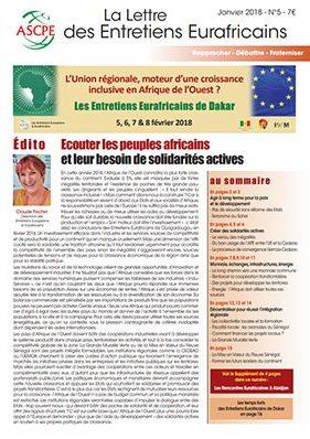 Lettre n° 5 Entretiens Eurafricains