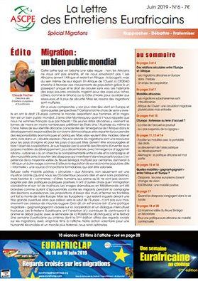 Lettre 6 Entretiens Eurafricains