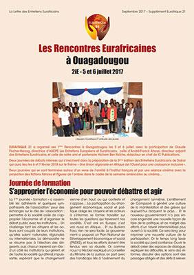 Supplément Eurafrique 21